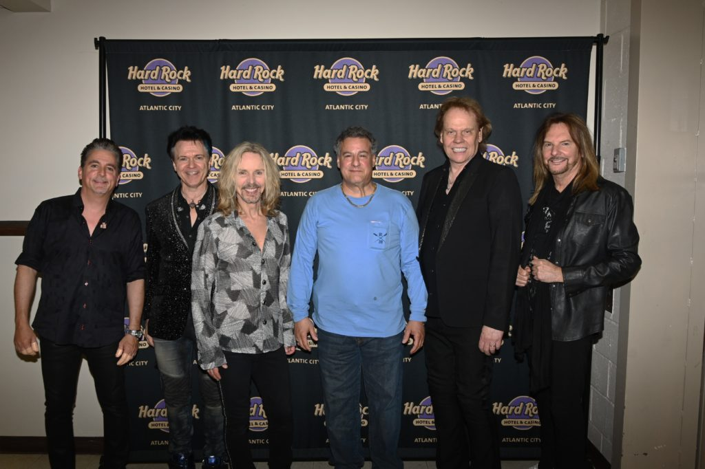 5/18/2019 At The Hard Rock Atlantic City With Our Friends Styx!
