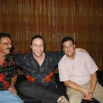 Reese Thomas (Lynyrd Skynyrd), Dr. Peter Aiken (Accomplished Bassist), and Robert after the 2009 Band Jam...
