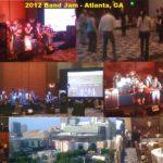 2012 Band Jam Collage - Omni Convention Hall in CNN Center, Atlanta, GA at Enterprise Data World!