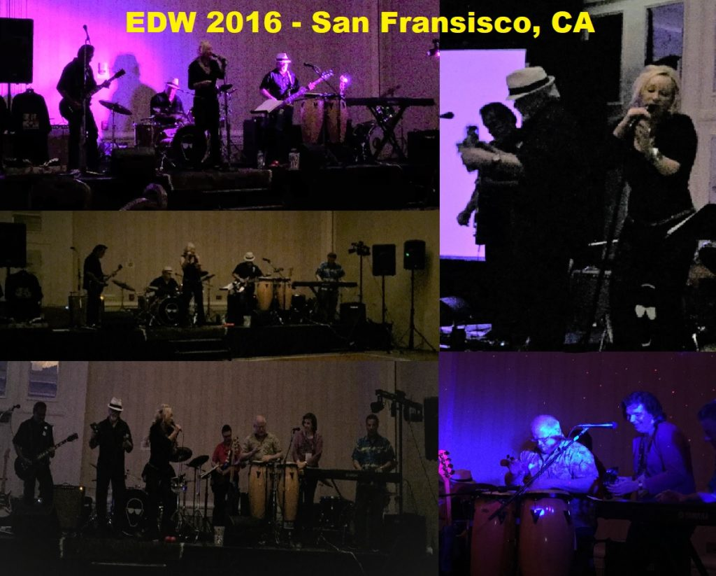 2016 Band Jam Collage - Hilton Grand Ballroom, San Francisco, CA at Enterprise Data World!