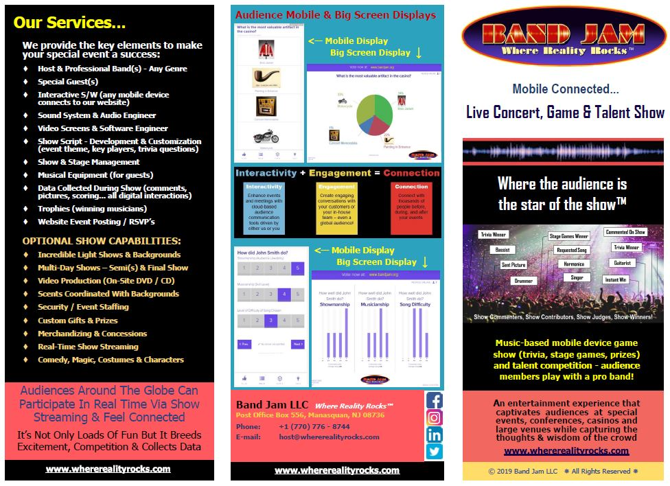 Tri-Fold Marketing Brochure Front