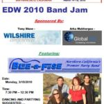 This flyer was used to solicit musician's and others to attend this years Band Jam Event.