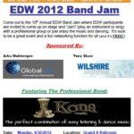 2012 Band Jam Invitiations