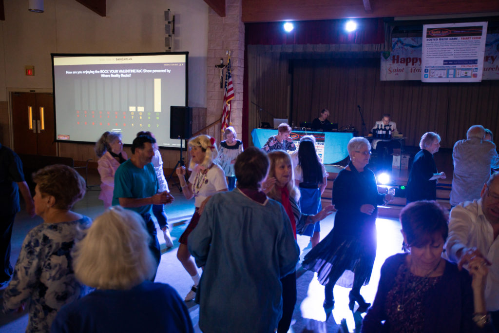 450 Attending This Private Event Featuring a 50's & 60's Dance & Costume Contest