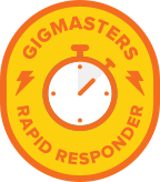We try to respond to gig requests within 2 hours.  Find us on The Bash.com (the old Gigmasters)... at https://www.thebash.com/interactive-game-show/band-jam-llc