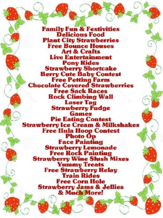 Suwannee County Strawberry Fest