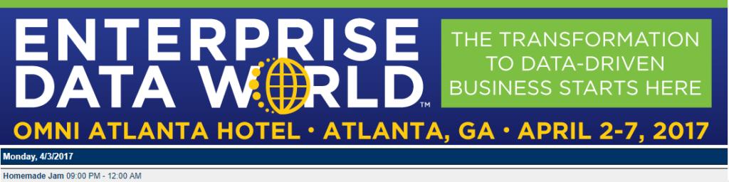 EDW 2017 Atlanta Program